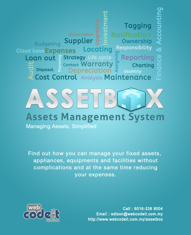 AssetBox - Asset Management System, Asset & facility management